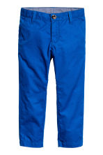 Cotton chinos - Cornflower blue - Kids | H&M CN 2